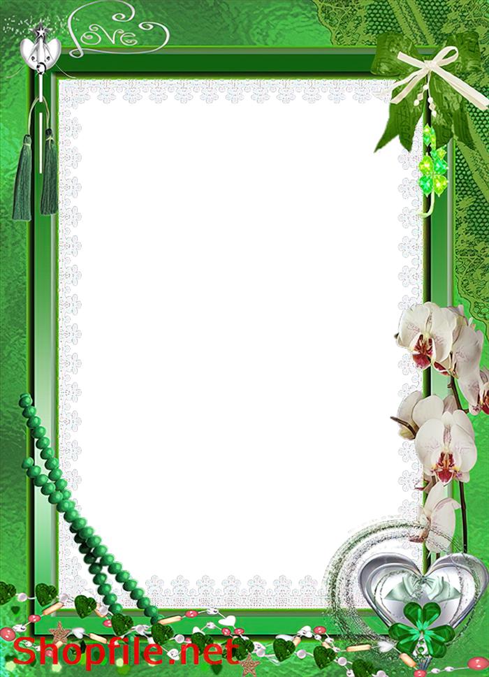 khung hình hoa văn đẹp