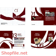 Mẫu layout catalogue shopfile summer